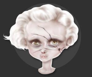Creepy Claire by NowandaNovi