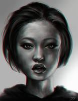 Portrait by Dzydar