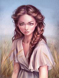 Wheat by Dzydar
