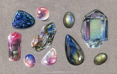 Precious Stones by Dzydar