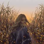Fireflies by Dzydar