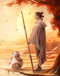 Tatooine - Star Wars by Dzydar