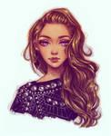 Golden Girl by Dzydar