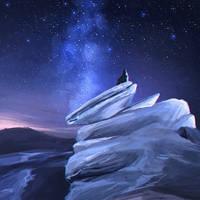 starry night by Dzydar
