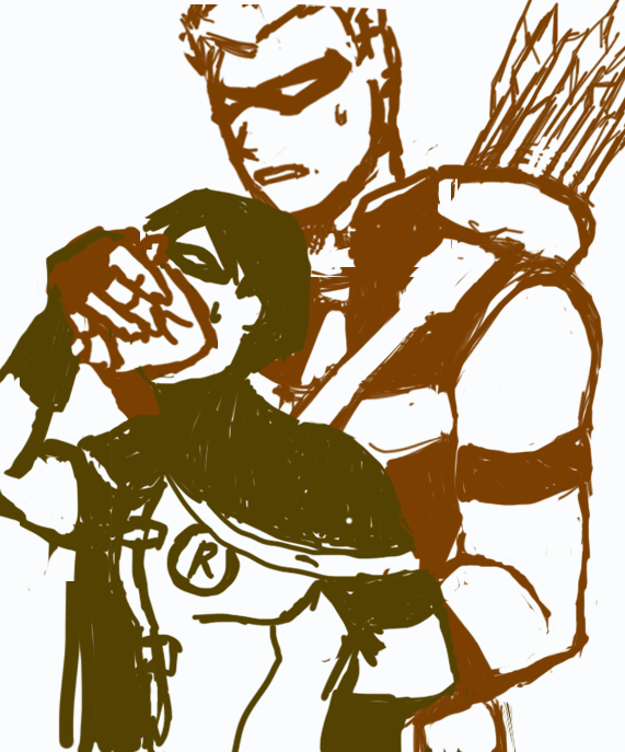 robin and speedy fanfiction