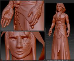 WIP: Necros 3D Model