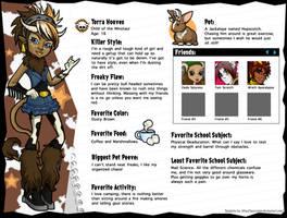Monster High OC: Torra Hooves by EvilFuzz