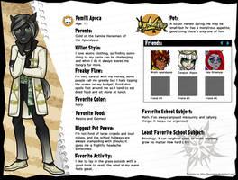 Monster High OC: Famill Apoca by EvilFuzz