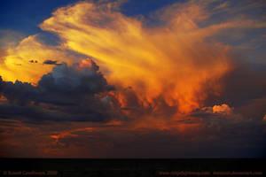 Sky Fire by datazoid