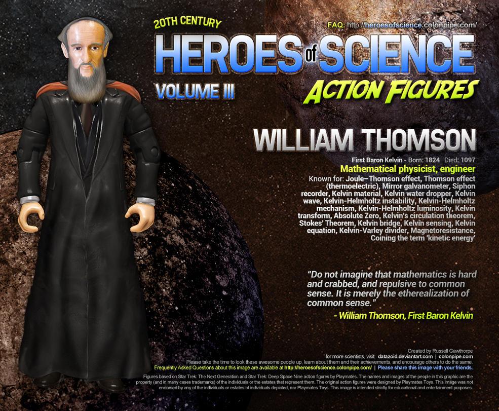 Heroes of Science: Lord Kelvin by datazoid