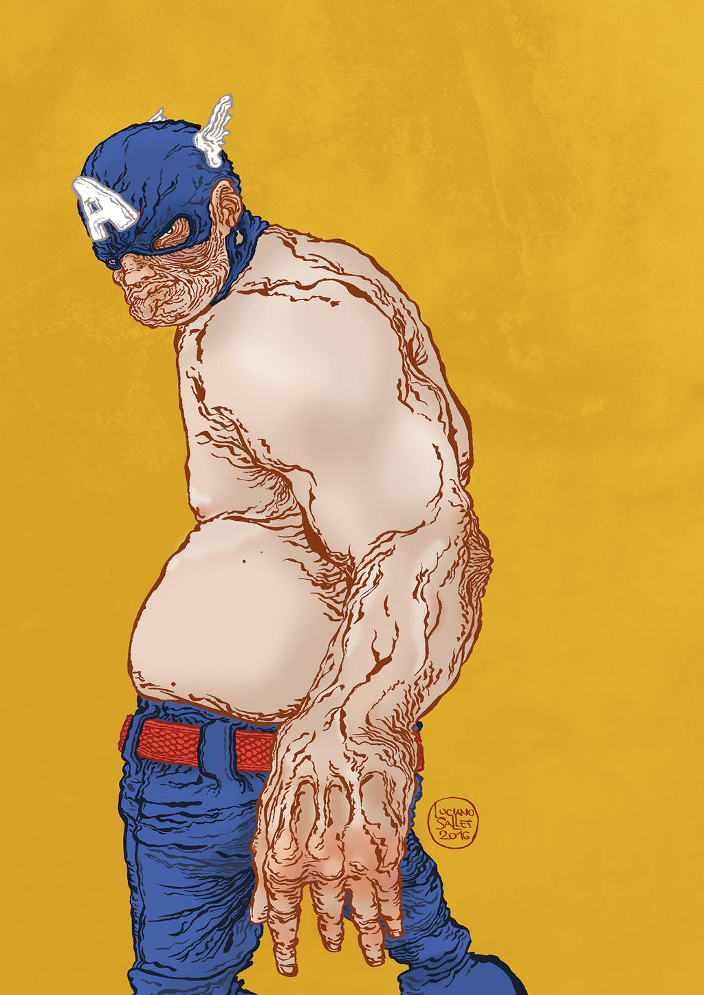 Captain America by lucianosalles