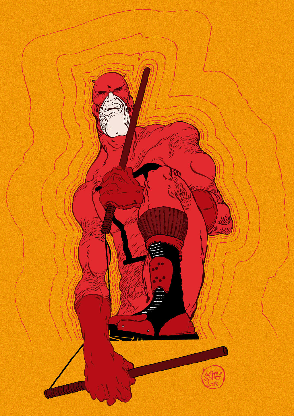 Daredevil by lucianosalles