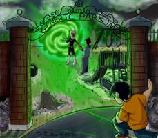 back to the future + portals