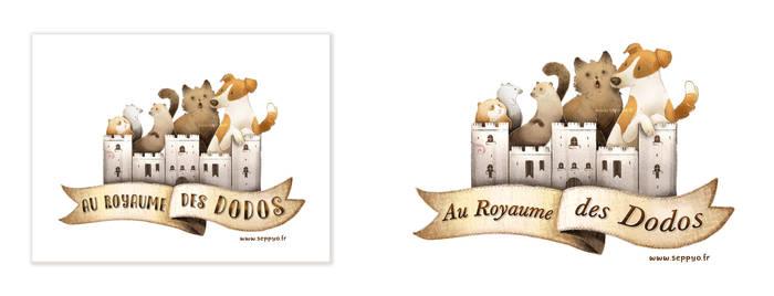 Logo au royaume des Dodos by Seppyo