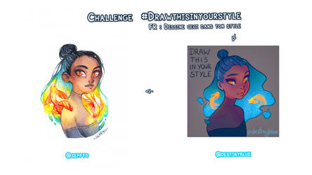 CHALLENGE Draw this in your style + VIDEO by Seppyo
