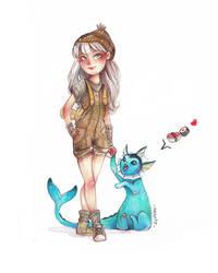 Ambre Pokemon by Seppyo