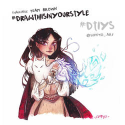 Brown DRAWTHISINYOURSTYLE by Seppyo