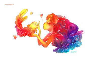 Une sirne de couleur  by Seppyo