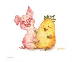 Cochon et Patate