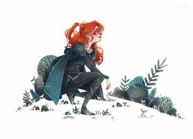 Elf Red hair