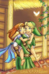 Link and Malon - Contest Entry