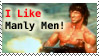 Manly Men - Stamp by CrystallineEssence