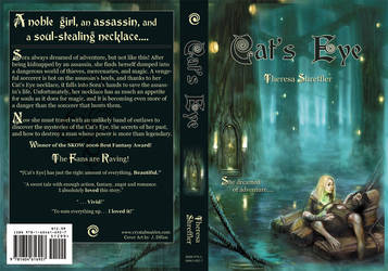 Cat's Eye Book Cover by CrystallineEssence