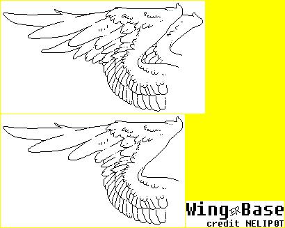 Wings Base by NELIP0T on DeviantArt