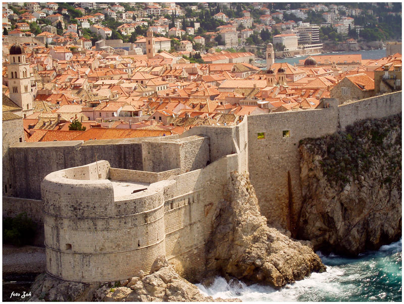 Dubrovnik utvrda by siscanin