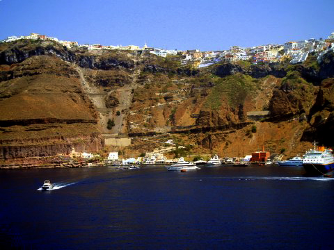 Santorini by siscanin