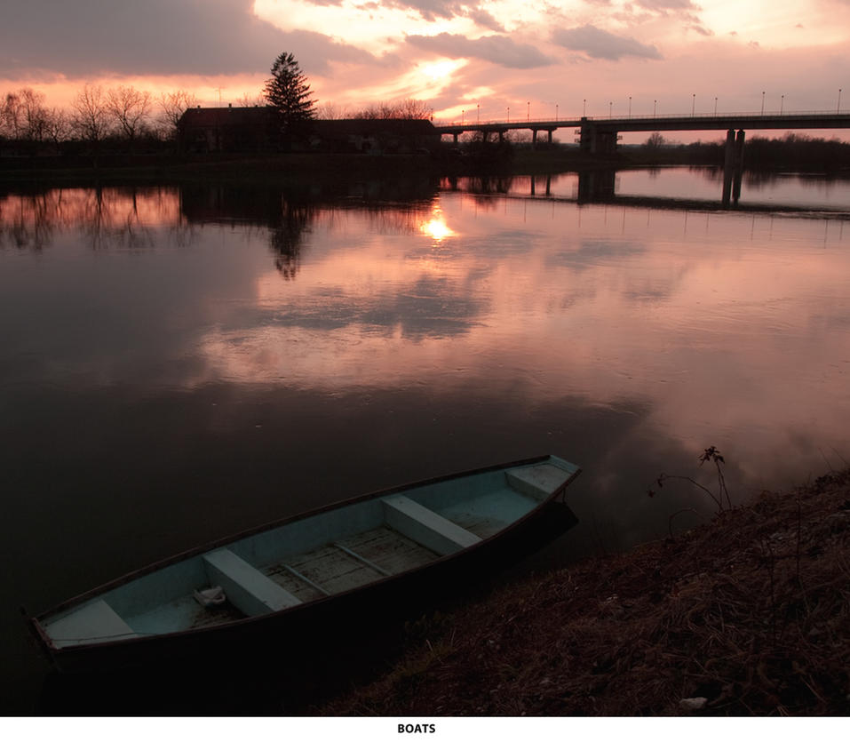 Boat stock by siscanin