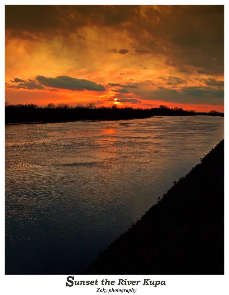 Kupski sunset by siscanin