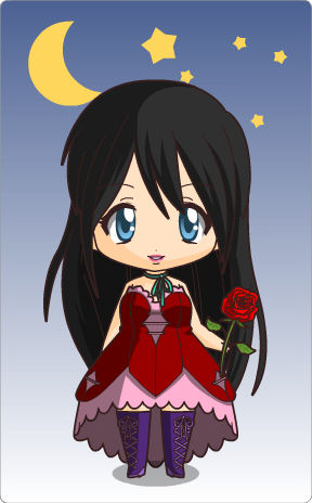 Chibi Sarah Brightman unique style by Kimberly-AJ-04-02