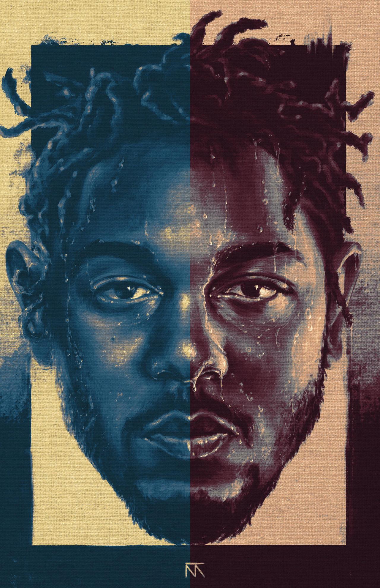 Kendrick Lamar (The Blacker The Berry) Art