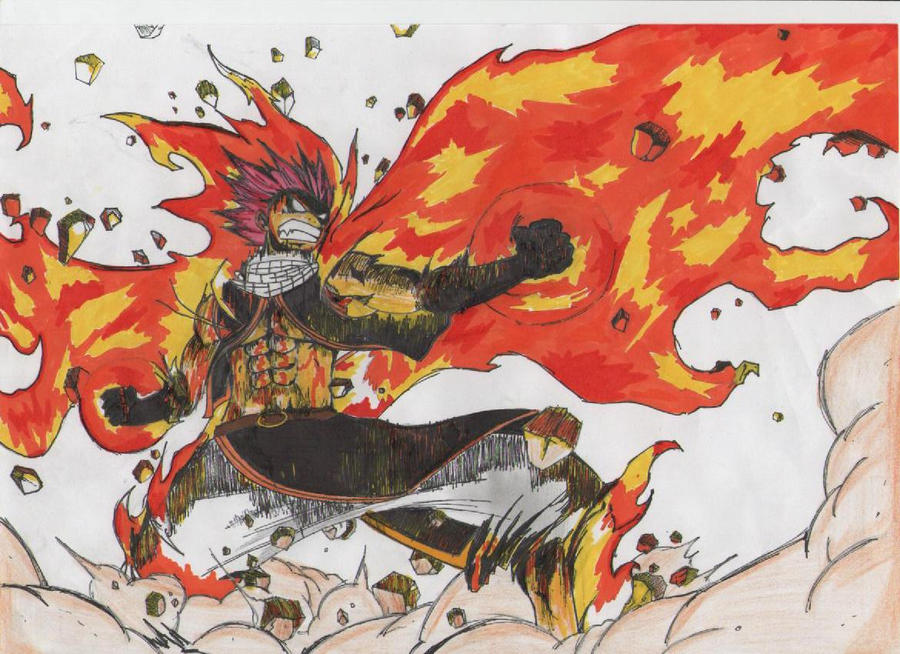 Fairy Tail Natsu Dragon Force Wallpaper Information Keywords And