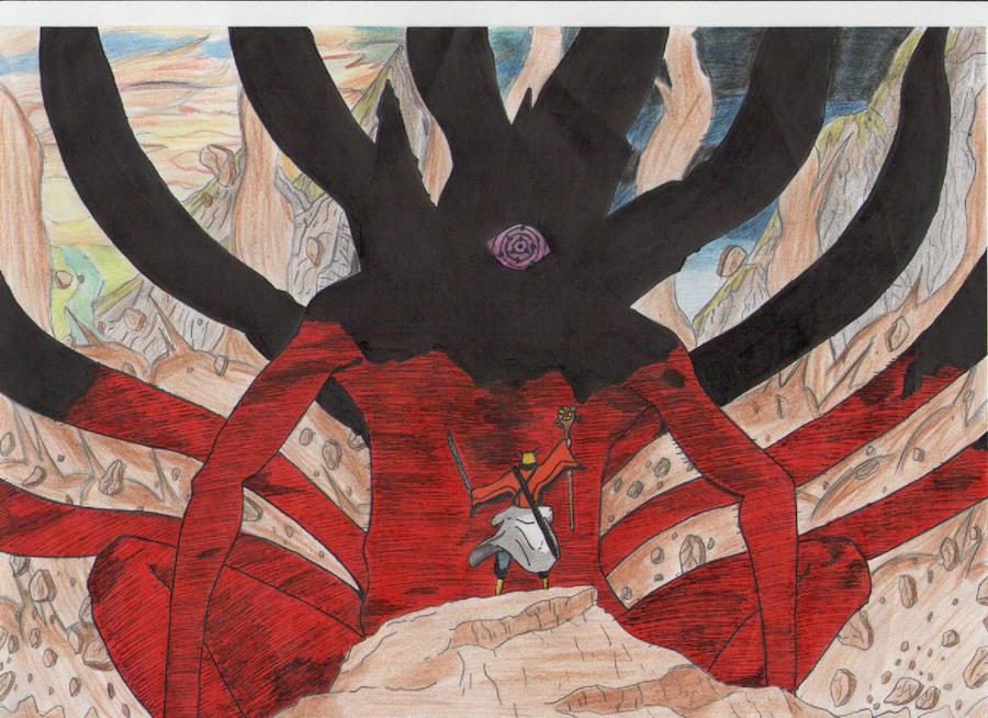 Jubi the 10 tailed beast by raptoku on DeviantArt