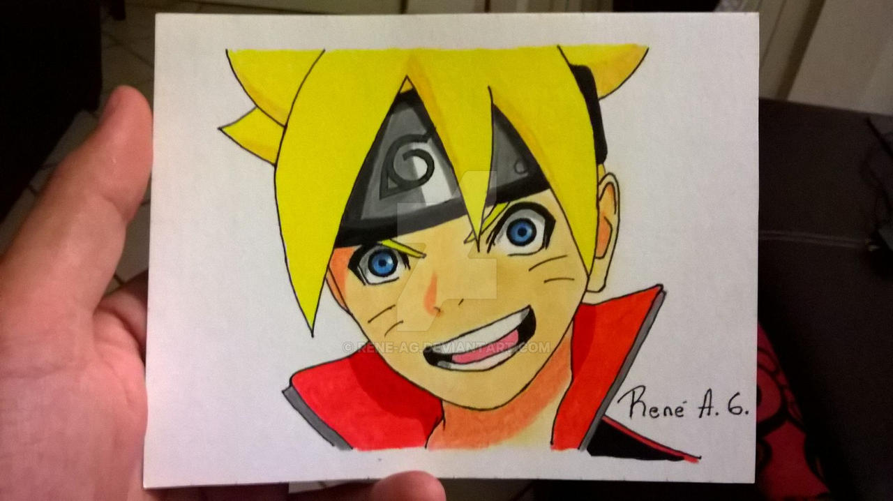 Mini Dibujo Boruto By Rene-AG On DeviantArt