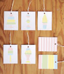 Printable Pastel Gift Tags
