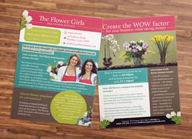 Flyer Design for Florist