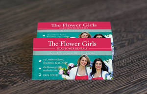 Business Card for Florist