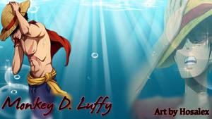 Monkey D. Luffy Wallpaper by Hosalex