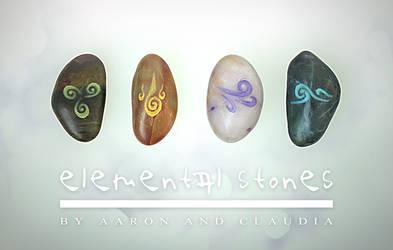 Elemental Stones by AaronRhyneHendren