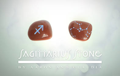 Sagittarius Stone by AaronRhyneHendren