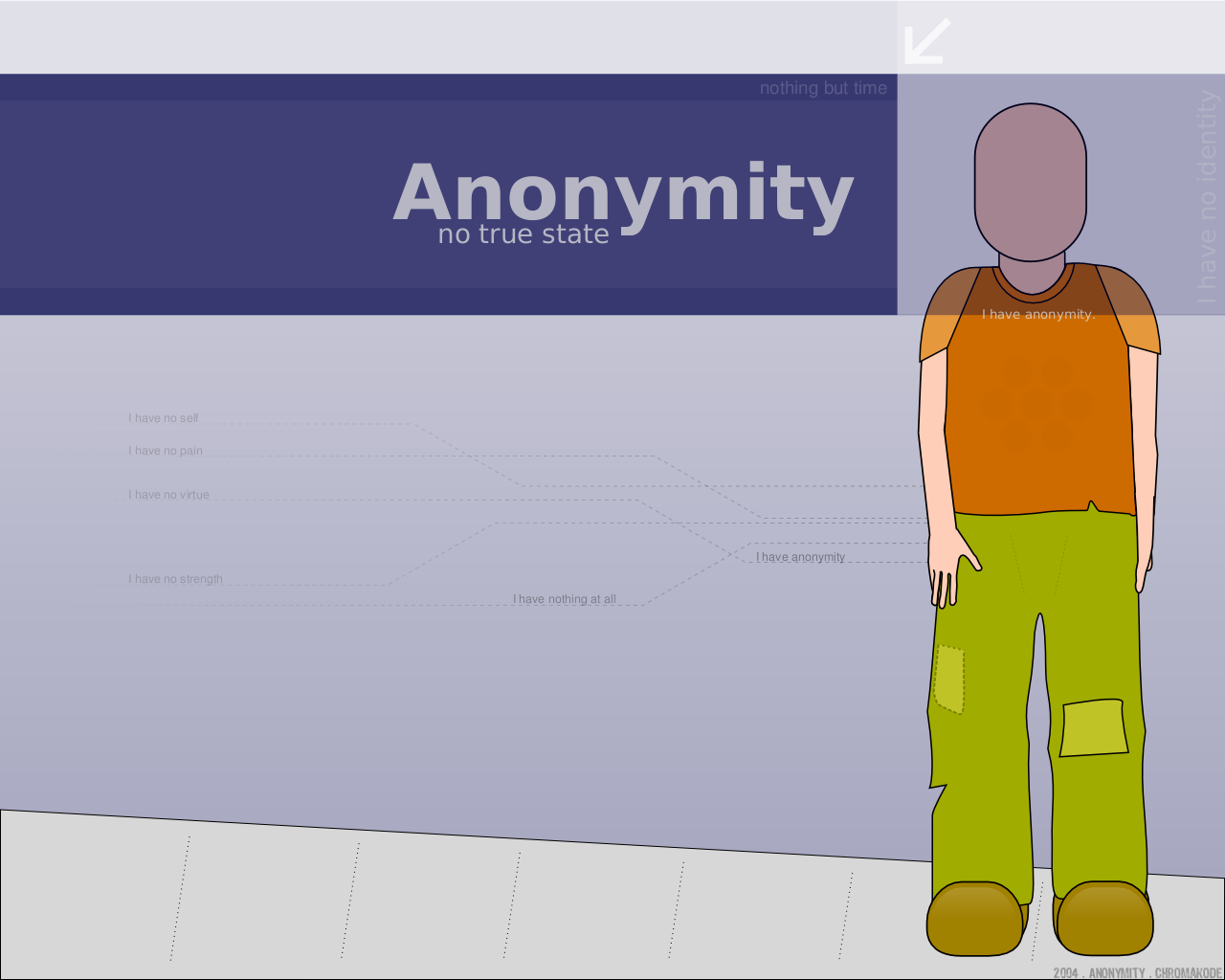Anonymity by Chromakode