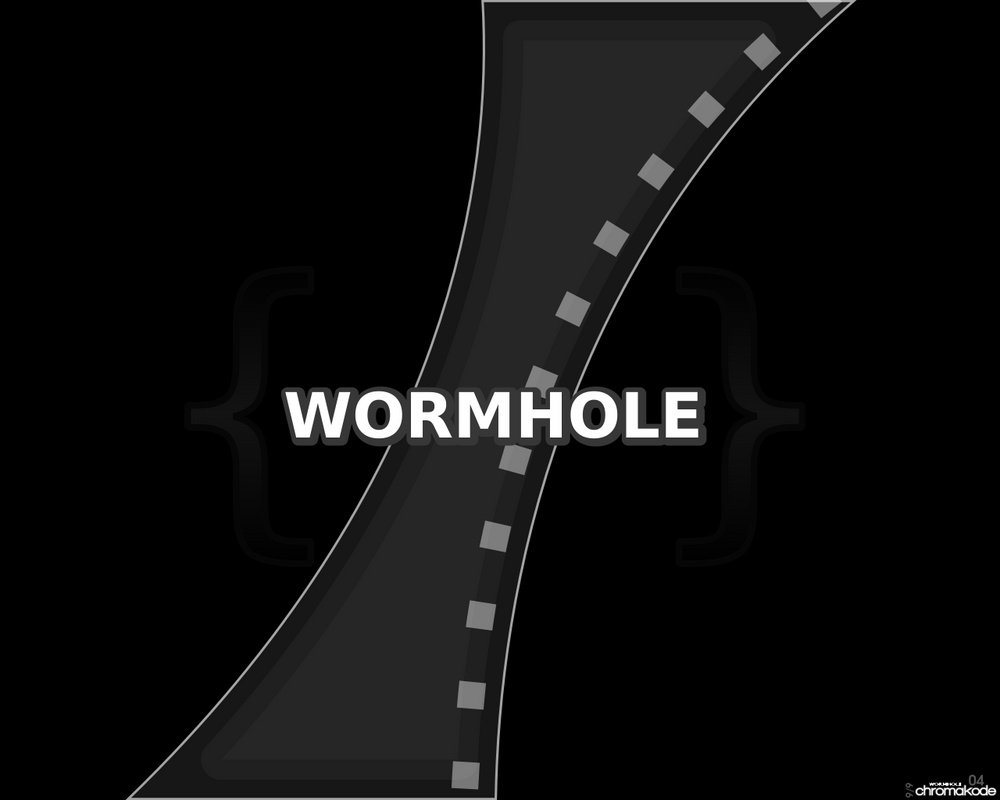 Wormhole by Chromakode