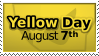 Yellow Day Stamp by Chromakode