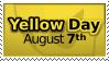 Yellow Day Stamp