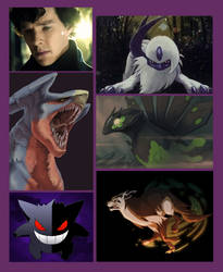 Sherlock Pokemon by absence224