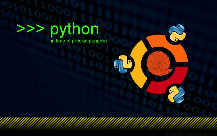 Ubuntu python by marcelomartinovic