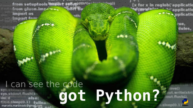 i see the code in python